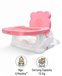 Babyhug Raise Me Up Baby Booster Seat - Pink White