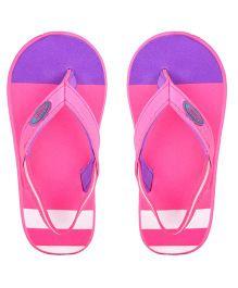 Beanz Flip Flops With Back Strap - Pink Purple