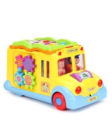 Musical And Intellectual School Bus - Multicolour