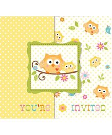 Charmed Celebrations Happi Tree Printed Invites - Pack of 8