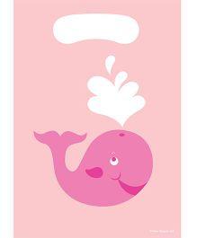 Charmed Celebrations Ocean Preppy Loot Bags Pink - Pack of 8