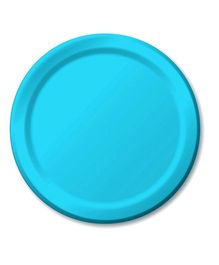 Charmed Celebrations Paper Plates Pack of 24 - Blue