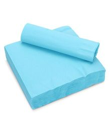 Charmed Celebrations Solid Colors Bermuda Lunch Paper Napkins - Blue