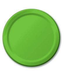 Charmed Celebrations Paper Plates Pack of 24 - Green