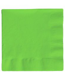 Charmed Celebrations Solid Colors Paper Napkins Pack of 50 - Green