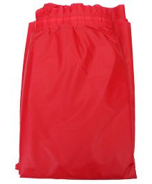 Charmed Celebrations Solid Color Classic Table Skirt - Red