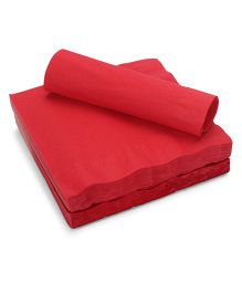 Charmed Celebrations Solid Colors Classic Lunch Paper Napkins - Red