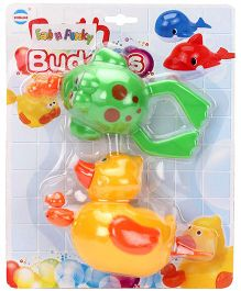 Bath Buddies Pack of 2 - Yellow Green