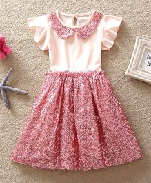 Dress My Angel Royal Glitter Dress - Pink