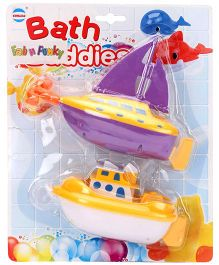 Bath Buddies Pack of 2 - Yellow Purple