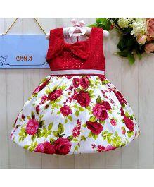 Dress My Angel Rose Garden Dress - Red