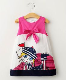 Dress My Angel Colour Book Dress - Pink