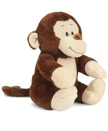 Starwalk Plush Monkey Soft Toy Dark Brown - 28 cm