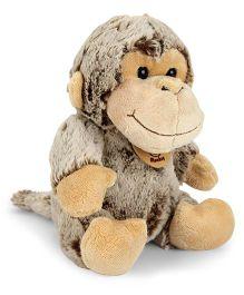 Starwalk Plush Monkey Soft Toy Brown - 20 cm