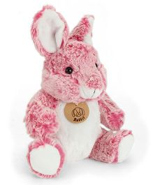 Starwalk Plush Rabbit Soft Toy Pink White - 20 cm