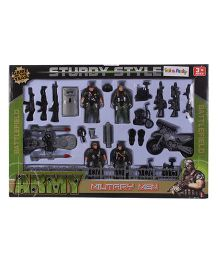Army Military Men Battlefield Set - Green