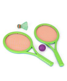 Tennis Set - Green & Purple
