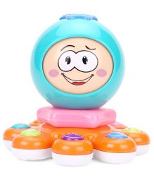Baby Magic Octopus Musical Toy - Blue And Orange
