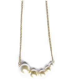 A.T.U.N Aphrodite Pearl Necklace - Off White