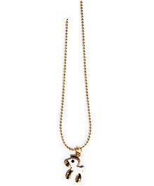 A.T.U.N Pony Charm Necklace - Silver & Gold