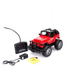 Remote Controlled Jeep - Red
