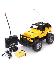 Remote Controlled Jeep - Yellow