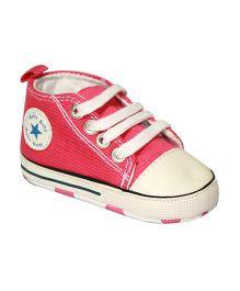Kiwi Sneakers Style Booties - Pink White