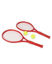 Sports Racket Set - Red