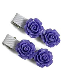 Little Miss Cuttie Hair Clip - Purple