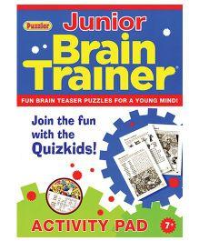 Junior Brain Trainer Activity Pad - English