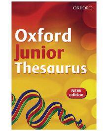 Oxford Junior Thesaurus - English
