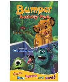 Bumper Activity Pad Disney The Lion King Pixar Monstes - English