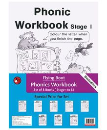 Phonic Workbook Stage 1 To 8 - English