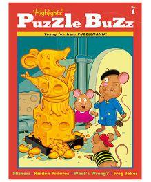 Puzzle Buzz No 1 - English