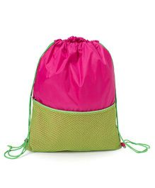 Li'll Pumpkins Mesh Backpack - Pink