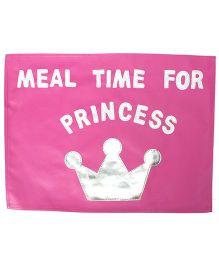 Li'll Pumpkins Princess Table Mat - Pink