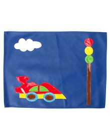 Li'll Pumpkins Car Table Mat - Blue