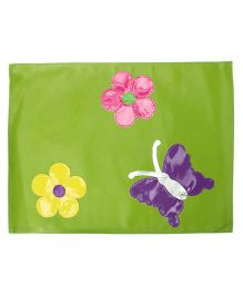 Li'll Pumpkins Butterfly Table Mat - Green