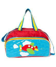 Li'll Pumpkins Aeroplane Bags - Blue