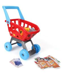 Shopping Cart Toy Red - 32 Pieces