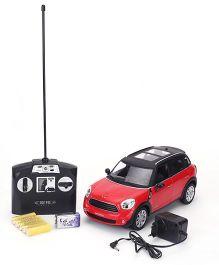MZ BMW Mini Cooper Remote Control Car - Red And Black