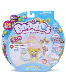 Beados Glitter Beads Royal Nursery - Multicolor
