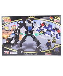 Best Lock SWAT Robot 2 in 1 Block Set Multicolor - 234 Pieces