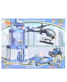 Best Lock Police HQ Block Set Multicolor - 259 Pieces
