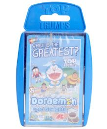 Top Trumps Doraemon Super Deluxe Card Game - 30 Pieces