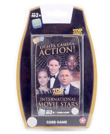 Top Trumps International Movie Stars Deluxe Card Game - 30 Pieces