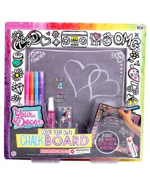 Horizon Color Your Own Chalk Board - Black