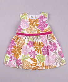 Petite Kids Aloha Dress - Multicolour