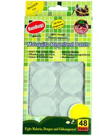 RunBugz Mosquito Repellent Patch White - Pack Of 48