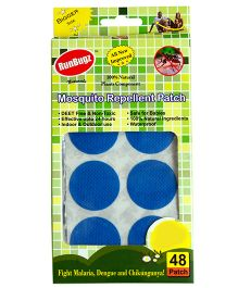RunBugz Mosquito Repellent Patch Blue - Pack Of 48